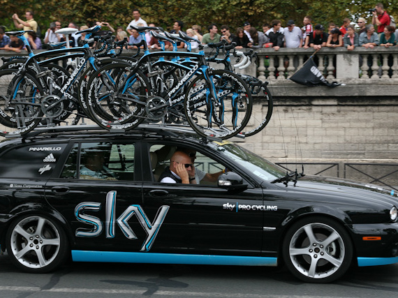Customer Service lessons from Brailsford and Team GB cycling